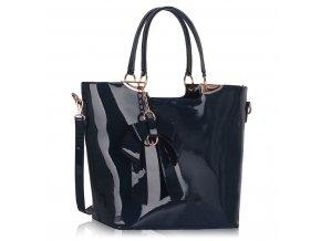 Shopper kabelka do ruky Anita námornícka LS00348