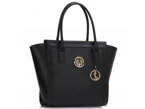 Shopper kabelka do ruky Carin čierna