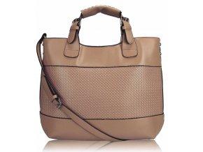 Shopper kabelka do ruky Delia B telová LS00268