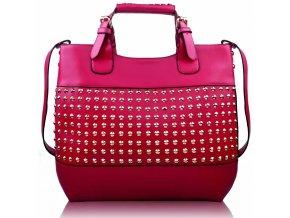 Shopper kabelka do ruky Delia F fuchsia LS00106 b096986367e