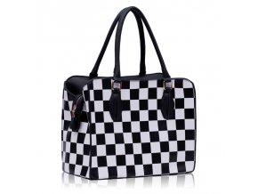 Shopper kabelka do ruky Dolly čierna LS00145