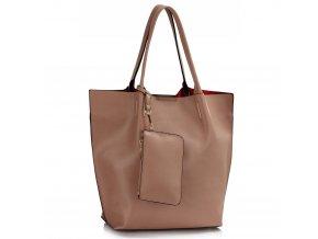 Shopper kabelka do ruky Dora telová LS00442