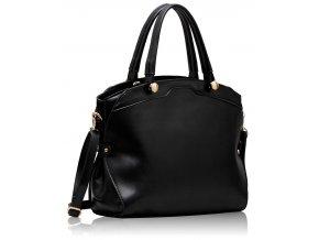 Shopper kabelka do ruky Felicity čierna LS00214