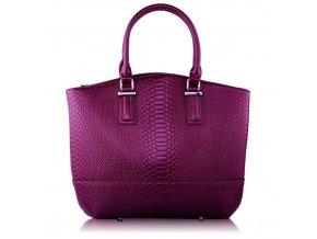 Shopper kabelka do ruky Kristina fialová LS00104