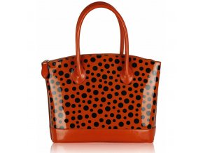 Shopper kabelka do ruky Laurie oranžová LS00282