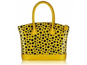 Shopper kabelka do ruky Laurie žltá LS00282