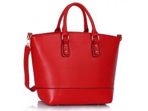 Shopper kabelka do ruky Loran B červená LS0085B