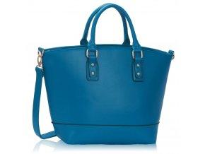 Shopper kabelka do ruky Loran B modrá LS0085B