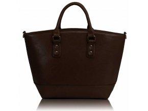 Shopper kabelka do ruky Loran káva A LS0085A