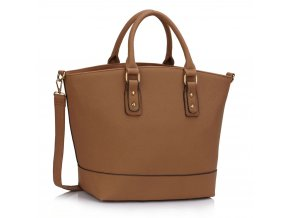 Shopper kabelka do ruky Loran tmavo-telová LS0085