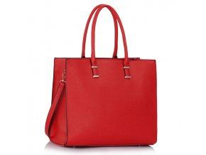 Shopper kabelka do ruky Monica červená LS00319