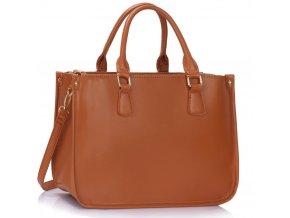 Shopper kabelka do ruky Myra hnedá LS00392