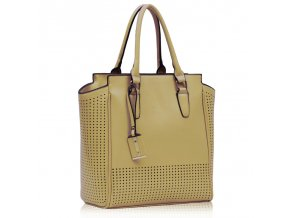 Shopper kabelka do ruky Nell telová LS00249
