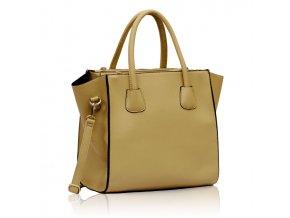 Shopper kabelka do ruky Orrie B telová LS0061
