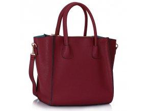 Shopper kabelka do ruky Orrie bordová LS0061A