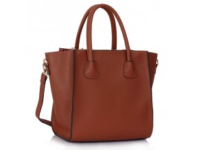 Shopper kabelka do ruky Orrie hnedá LS0061A