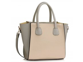 Shopper kabelka do ruky Orrie sivo telová LS0061A