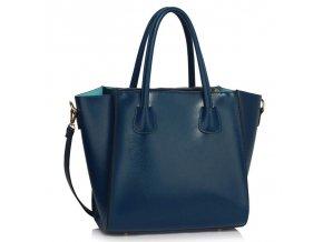 Shopper kabelka do ruky Sandra námornícka LS0061B