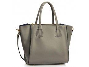 Shopper kabelka do ruky Sandra sivá LS0061B