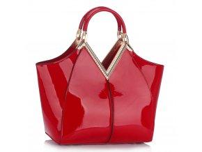 Shopper kabelka do ruky Sandy červená LS00302