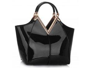Shopper kabelka do ruky Sandy čierna LS00302