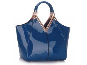Shopper kabelka do ruky Sandy modrá LS00302