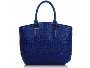 Shopper kabelka do ruky Tony modrá LS00104C