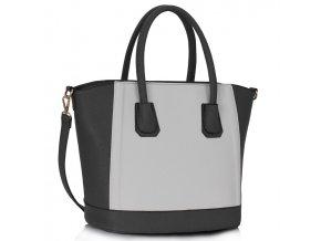 Shopper kabelka do ruky Trissie šedá LS0090B