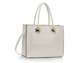 Shopper kabelka do ruky Veronica biela LS00394