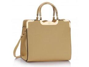 Shopper kabelka do ruky Wanda béžová LS00294