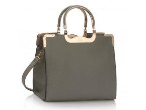 Shopper kabelka do ruky Wanda sivá LS00294