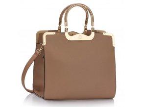 Shopper kabelka do ruky Wanda telová LS00294