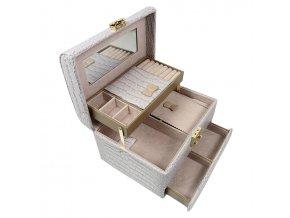 Šperkovnica pre bižutériu Monnari béžová 7502