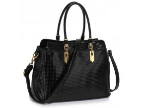 Trendová kabelka do ruky Adele čierna LS00418A