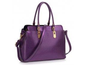 Trendová kabelka do ruky Adele fialová LS00418A