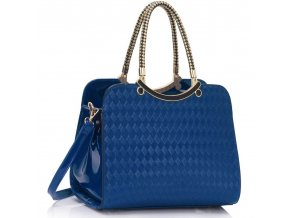 Trendová kabelka do ruky Cory modrá LS00395