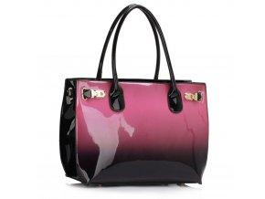 Trendová kabelka do ruky Dorrie fialová LS00245
