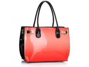 Trendová kabelka do ruky Dorrie korál LS00245