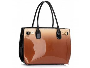 Trendová kabelka do ruky Dorrie telová LS00245