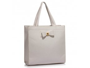 Trendová kabelka do ruky Lisa A biela LS00383a