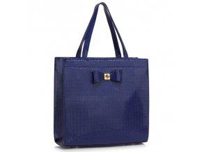 Trendová kabelka do ruky Lisa A námornícka LS00383a