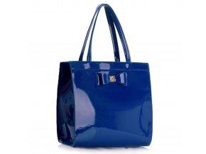 Trendová kabelka do ruky Lisa modrá LS00383