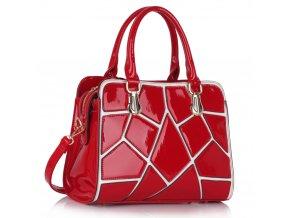 Trendová kabelka do ruky Ness červená LS00296