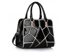 Trendová kabelka do ruky Ness čierna LS00296