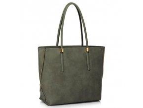 Trendová kabelka Dora sivá LS00494