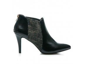 Dámske členkové topánky na tenkom opätku veľ.č. 36 (Veľkosť UK8 / EUR 41)
