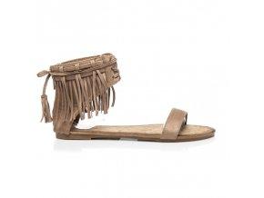 Dámske sandále hnedobéžové 93SA-578DK.BE veľ.č. 39 (Veľkosť UK8 / EUR 41)