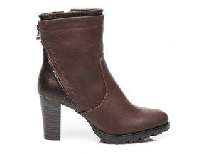 Hnedé elegantné topánky 58834BR / S1-32P veľ.č. 40 (Veľkosť UK7 / EUR 40)