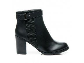 Klasické topánky na opätku veľ.č. 36, 38, 40 (Veľkosť UK7 / EUR 40)