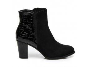 Klasické topánky na opätku veľ.č. 39 (Veľkosť UK6 / EUR 39)